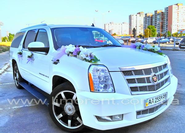 Авто в аренду для свадьбы киев